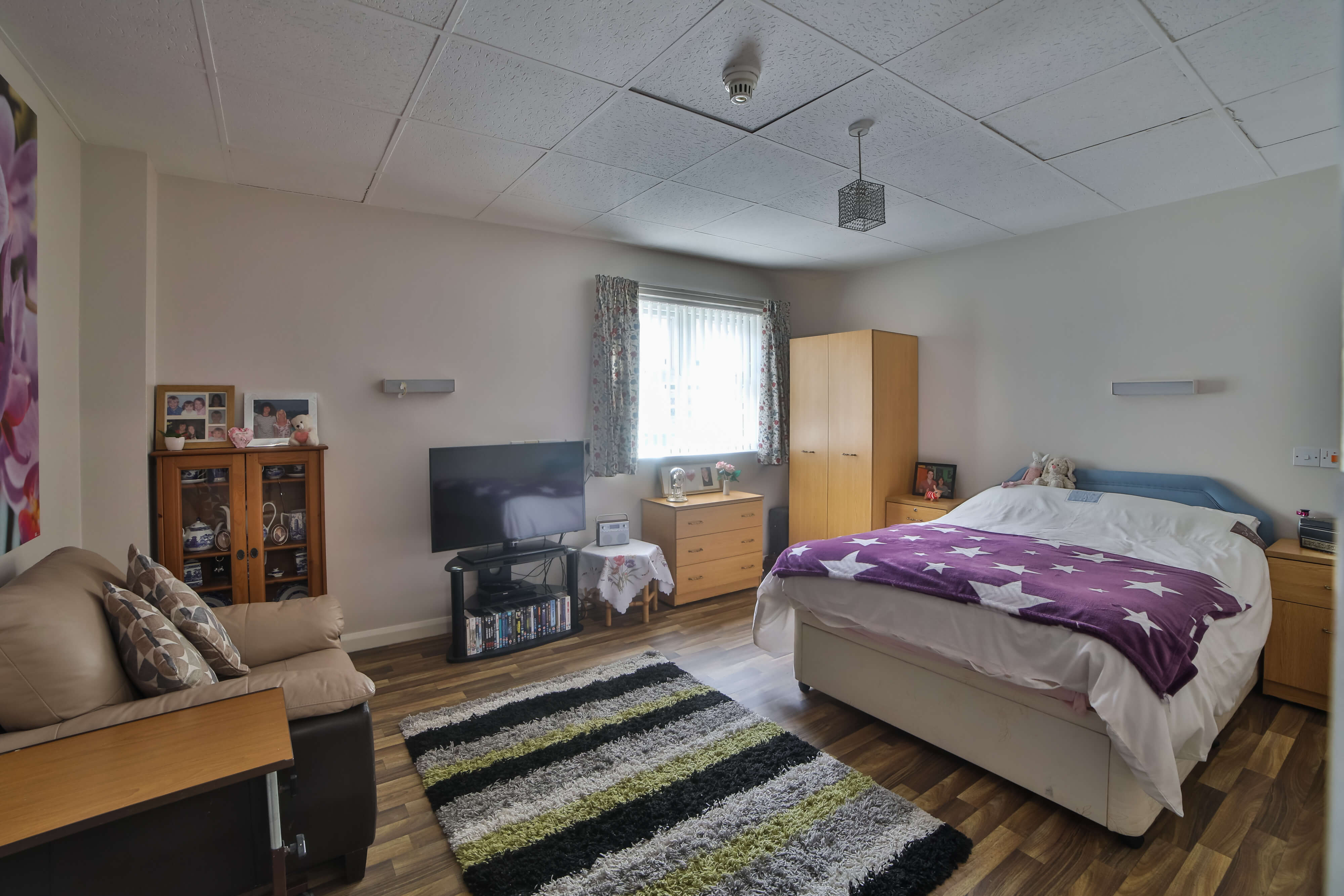 Another view of Primrose Care Home bedroom